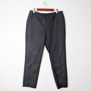 Chico's Sz 1 Cropped Tapered Skinny Pants